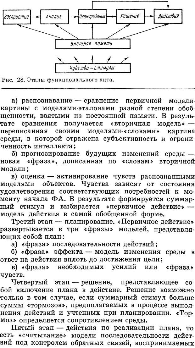 DJVU. Алгоритмы разума. Амосов Н. М. Страница 85. Читать онлайн