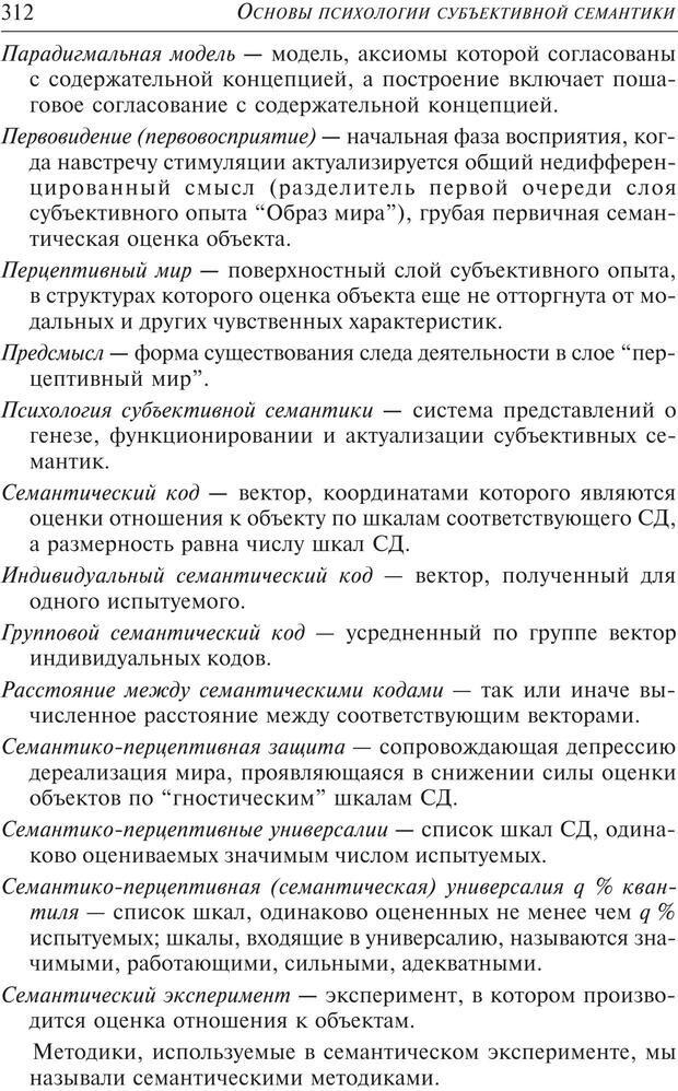 PDF. Основы психологии субъективной семантики. Артемьева Е. Ю. Страница 298. Читать онлайн