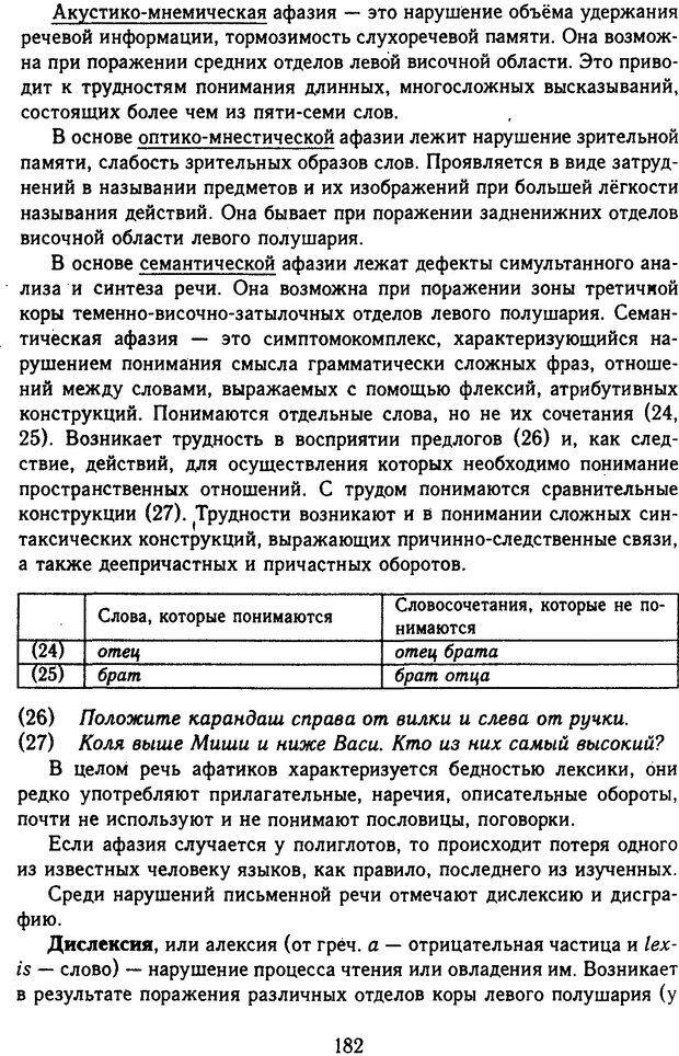 DJVU. Психолингвистика. Белянин В. П. Страница 180. Читать онлайн