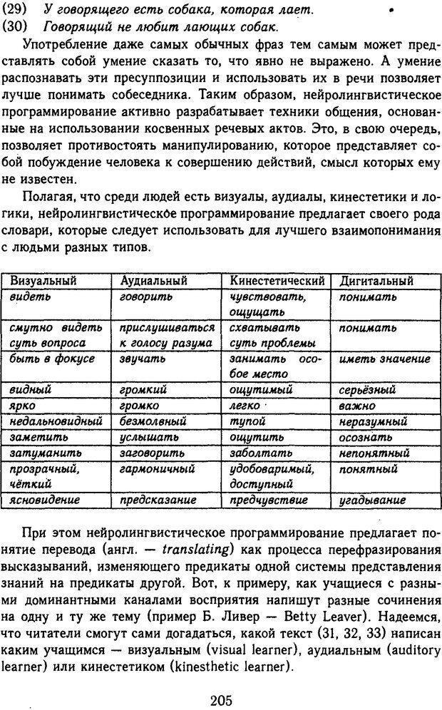 DJVU. Психолингвистика. Белянин В. П. Страница 203. Читать онлайн