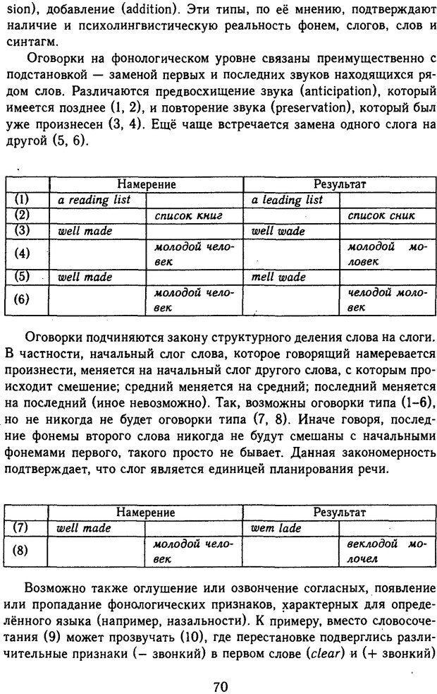 DJVU. Психолингвистика. Белянин В. П. Страница 68. Читать онлайн