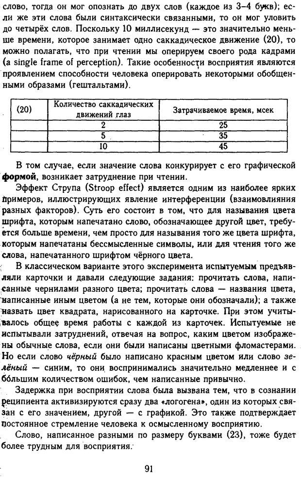 DJVU. Психолингвистика. Белянин В. П. Страница 89. Читать онлайн