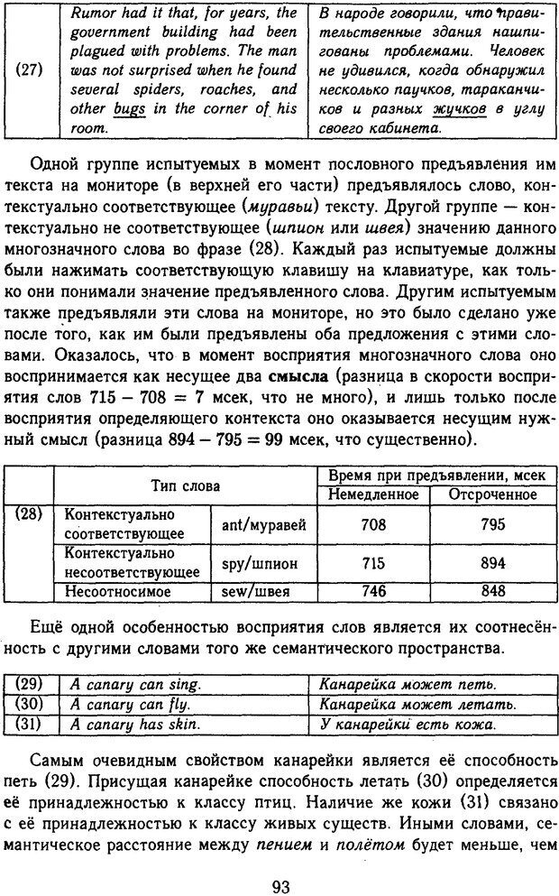 DJVU. Психолингвистика. Белянин В. П. Страница 91. Читать онлайн