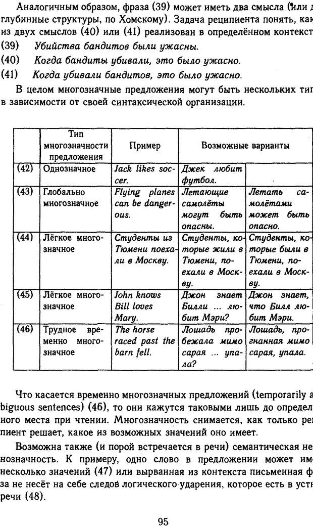 DJVU. Психолингвистика. Белянин В. П. Страница 93. Читать онлайн