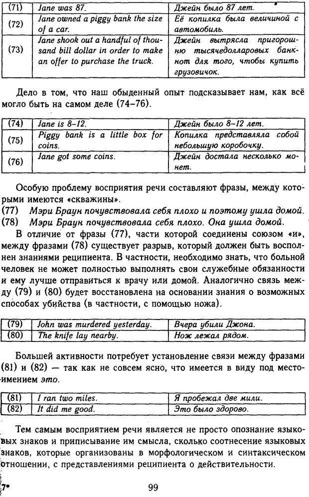 DJVU. Психолингвистика. Белянин В. П. Страница 97. Читать онлайн