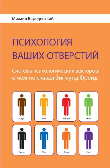 """Обложка книги """"«Психология ваших отверстий.  Система психологических векторов: о чем не сказал Зигмунд Фрейд»"""""""