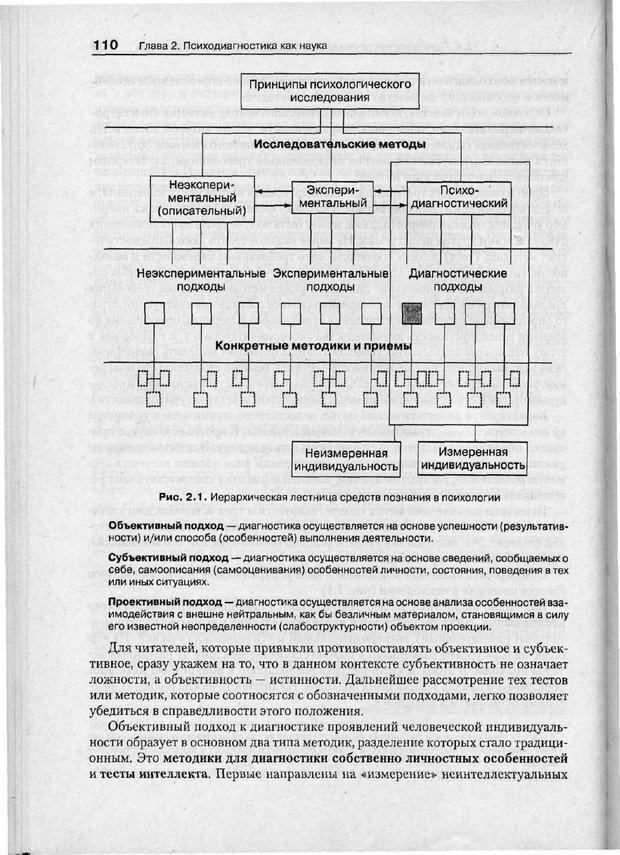 PDF. Психодиагностика. Бурлачук Л. Ф. Страница 111. Читать онлайн