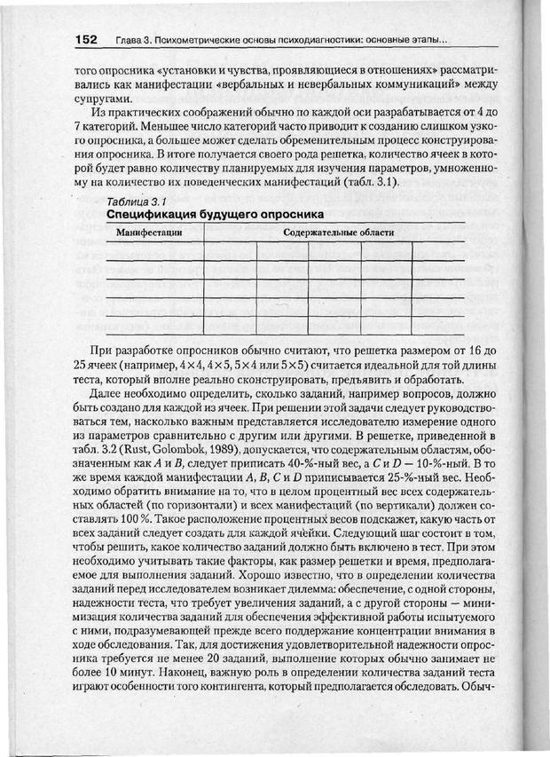 PDF. Психодиагностика. Бурлачук Л. Ф. Страница 153. Читать онлайн
