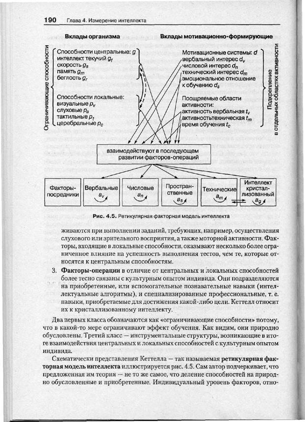 PDF. Психодиагностика. Бурлачук Л. Ф. Страница 191. Читать онлайн