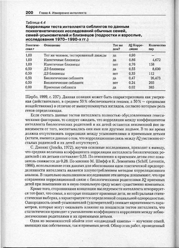 PDF. Психодиагностика. Бурлачук Л. Ф. Страница 201. Читать онлайн