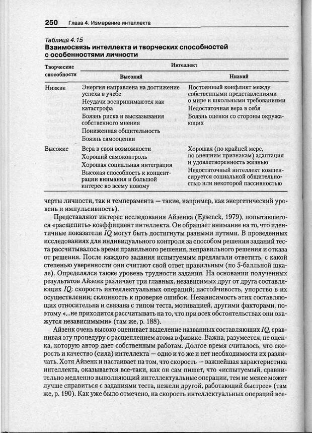 PDF. Психодиагностика. Бурлачук Л. Ф. Страница 251. Читать онлайн