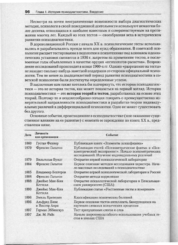 PDF. Психодиагностика. Бурлачук Л. Ф. Страница 97. Читать онлайн