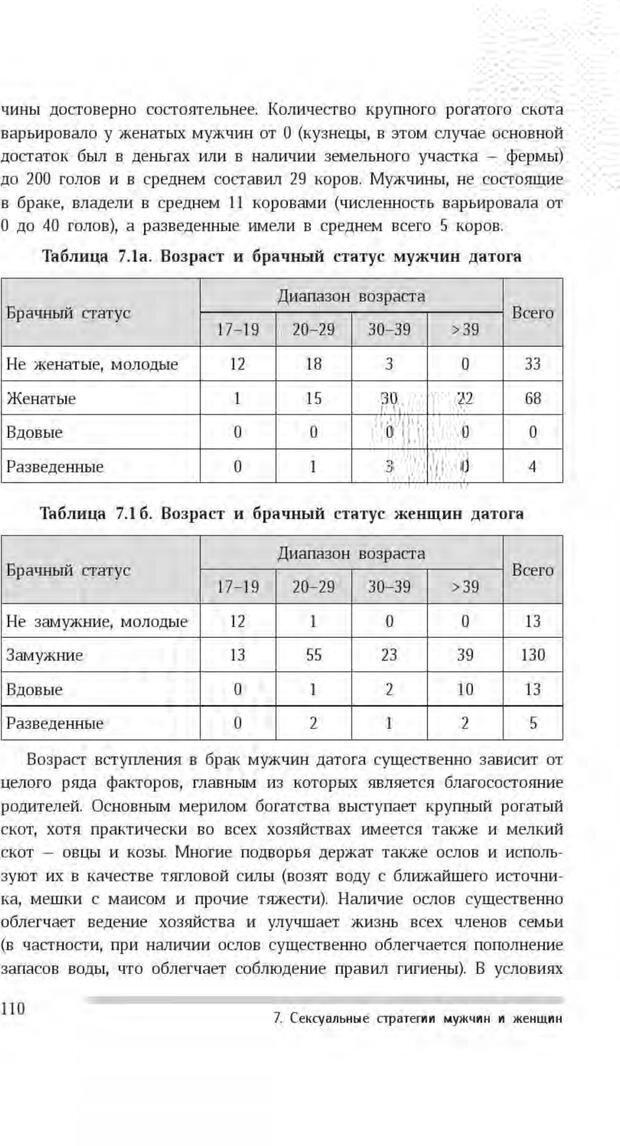 PDF. Антропология пола. Бутовская М. Л. Страница 106. Читать онлайн