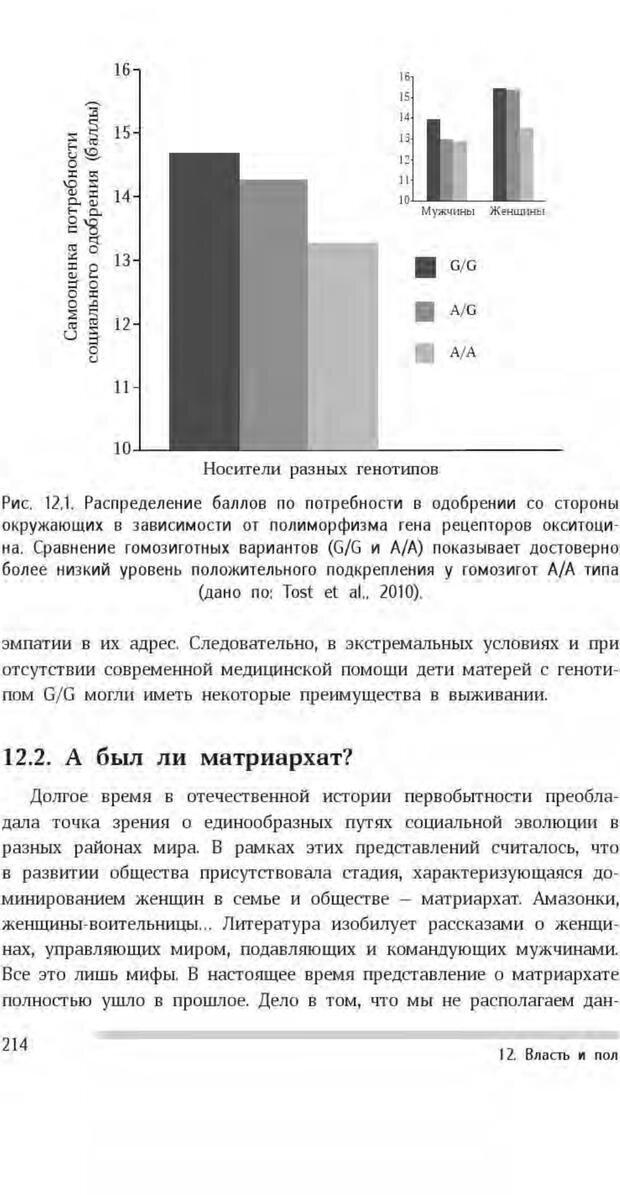 PDF. Антропология пола. Бутовская М. Л. Страница 210. Читать онлайн