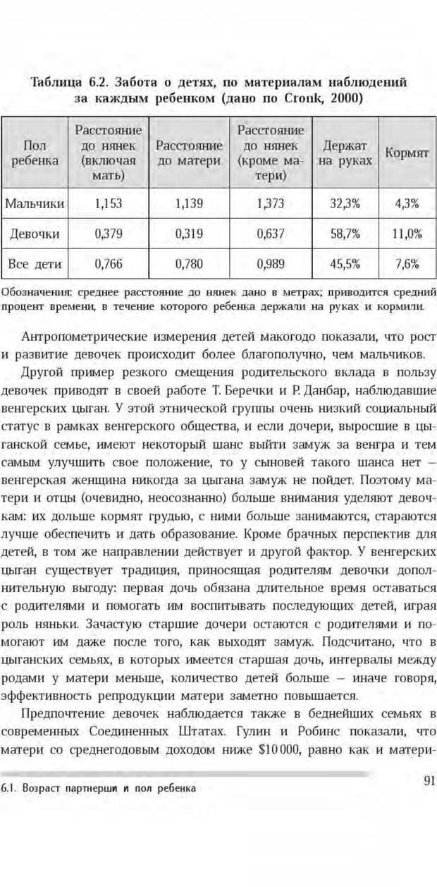 PDF. Антропология пола. Бутовская М. Л. Страница 87. Читать онлайн