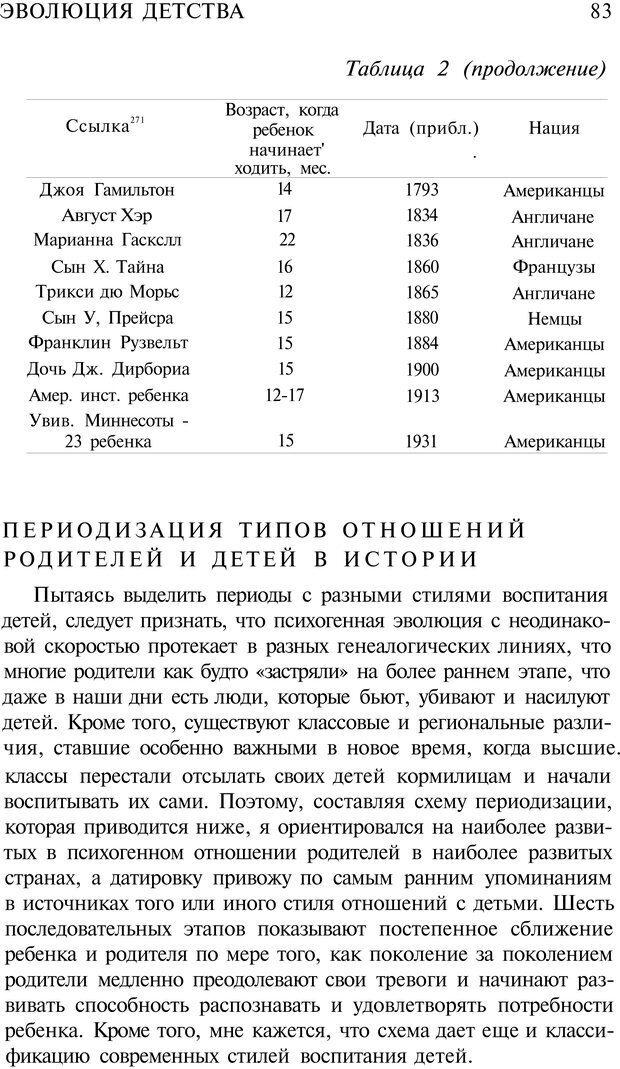 PDF. Психоистория. Демоз Л. Страница 82. Читать онлайн