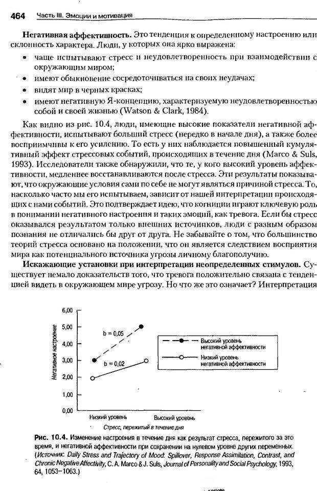 DJVU. Мотивация поведения (5-е издание). Фрэнкин Р. E. Страница 463. Читать онлайн