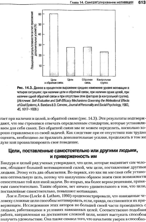 DJVU. Мотивация поведения (5-е издание). Фрэнкин Р. E. Страница 612. Читать онлайн