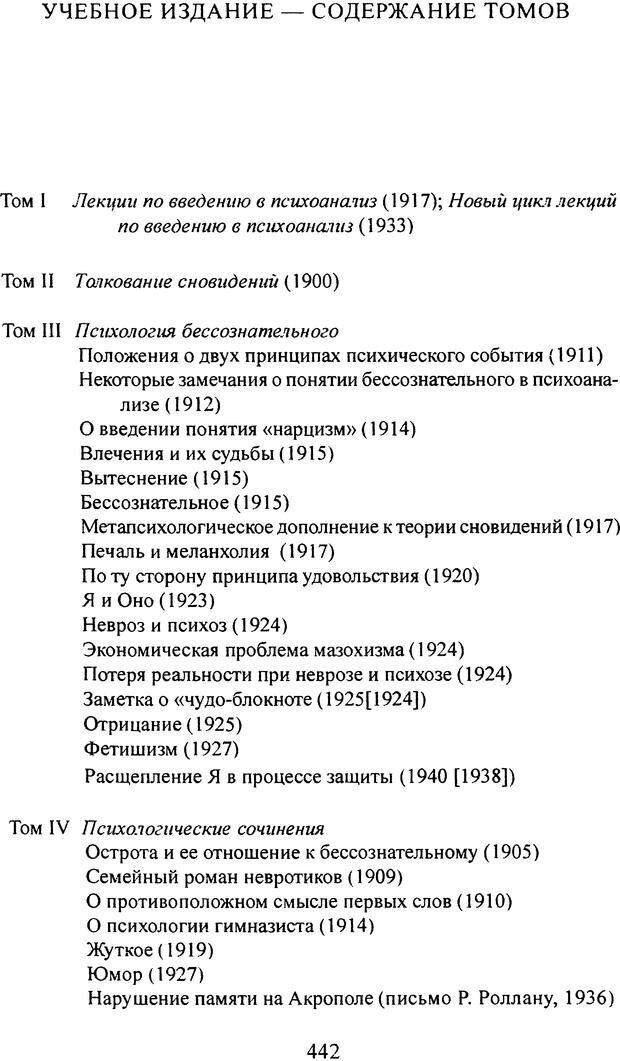 DJVU. Том 3. Психология бессознательного. Фрейд З. Страница 427. Читать онлайн