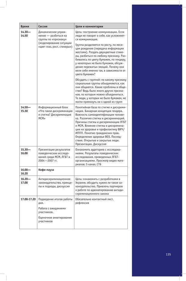 PDF. Социальная работа с людьми, практикующими однополые сексуальные отношения: Теория. Методики. Лучшие практики. Гейдар Л. Страница 134. Читать онлайн
