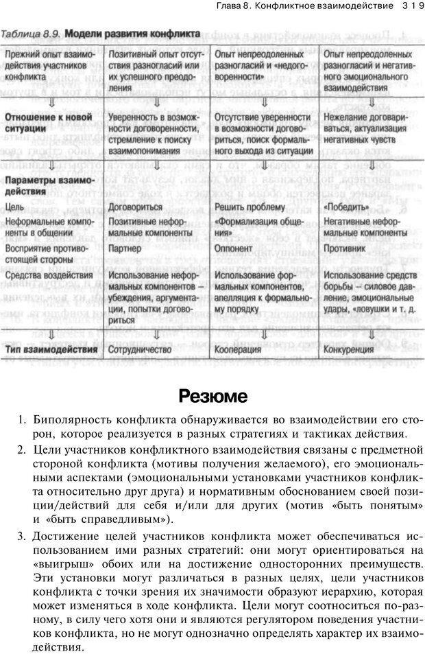 PDF. Психология конфликта. Гришина Н. В. Страница 314. Читать онлайн