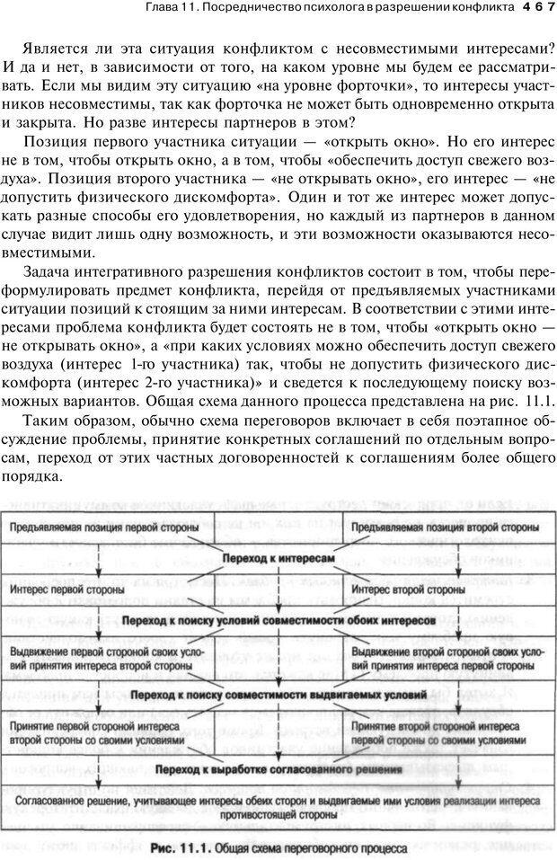 PDF. Психология конфликта. Гришина Н. В. Страница 461. Читать онлайн