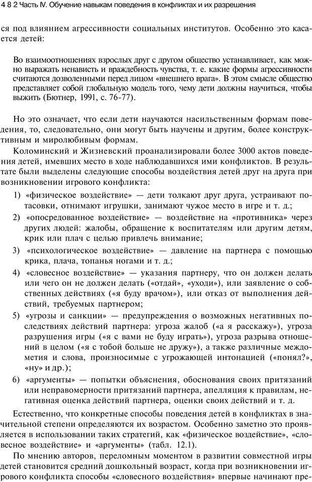 PDF. Психология конфликта. Гришина Н. В. Страница 475. Читать онлайн
