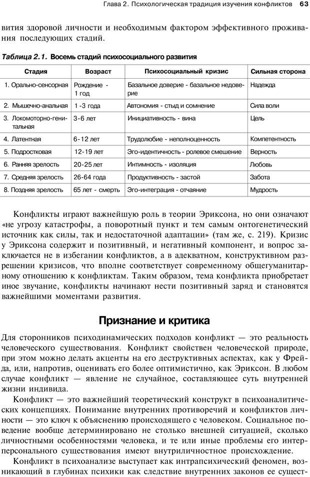 PDF. Психология конфликта. Гришина Н. В. Страница 59. Читать онлайн