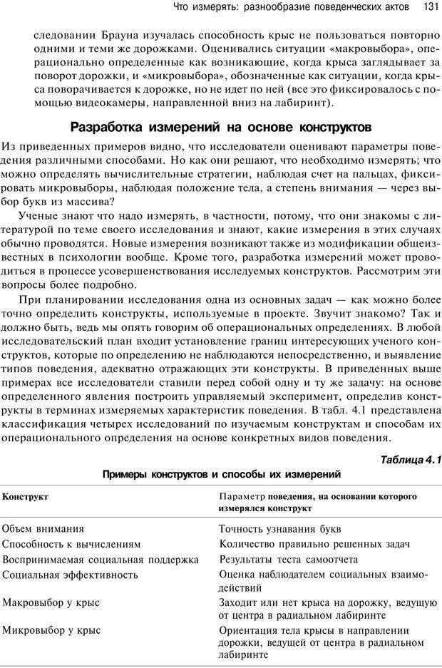 PDF. Исследование в психологии. Методы и планирование. Гудвин Д. Страница 130. Читать онлайн
