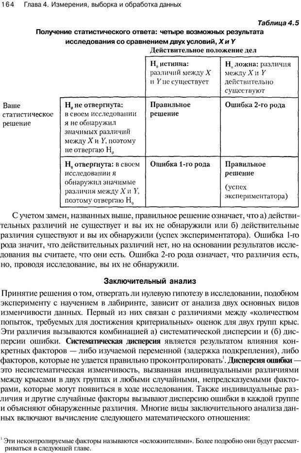 PDF. Исследование в психологии. Методы и планирование. Гудвин Д. Страница 163. Читать онлайн
