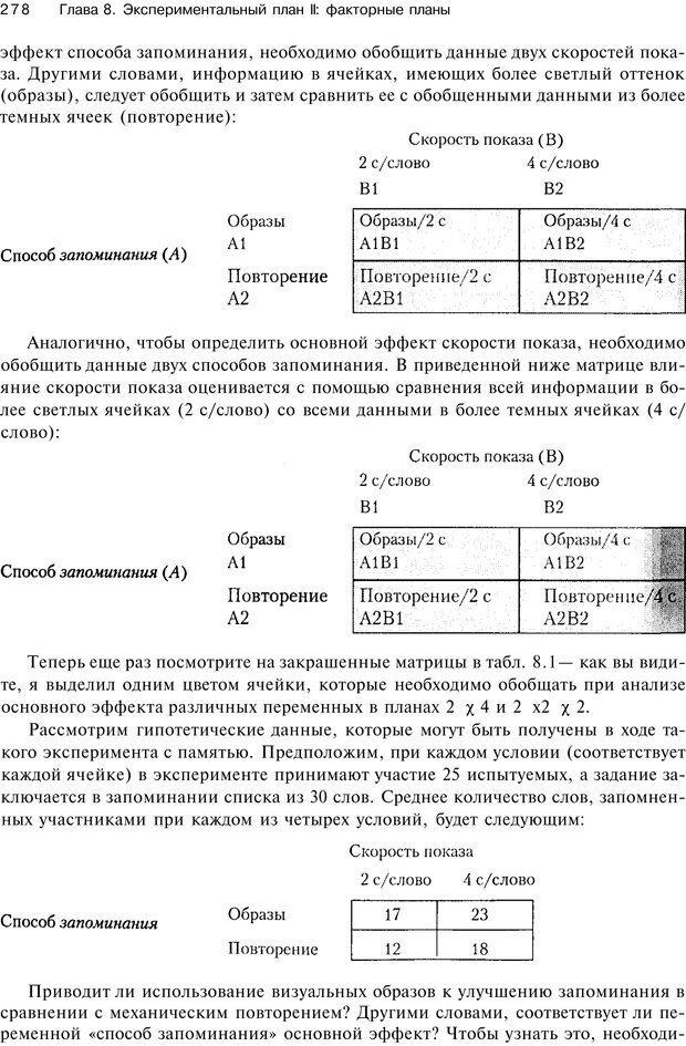 PDF. Исследование в психологии. Методы и планирование. Гудвин Д. Страница 277. Читать онлайн