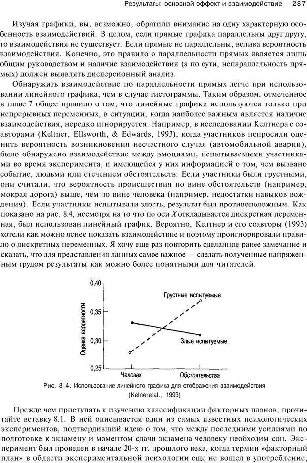 PDF. Исследование в психологии. Методы и планирование. Гудвин Д. Страница 286. Читать онлайн