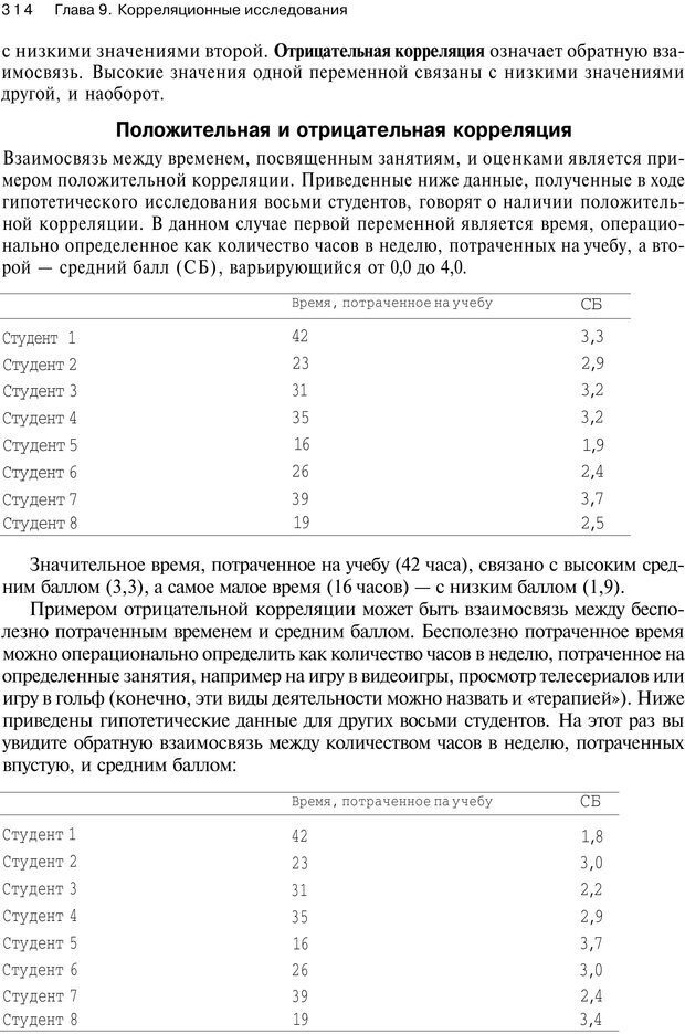 PDF. Исследование в психологии. Методы и планирование. Гудвин Д. Страница 313. Читать онлайн