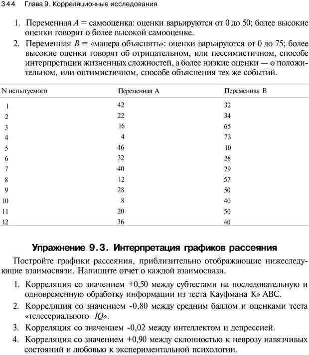 PDF. Исследование в психологии. Методы и планирование. Гудвин Д. Страница 343. Читать онлайн