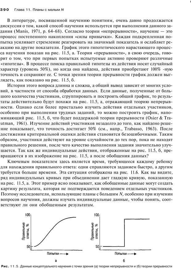 PDF. Исследование в психологии. Методы и планирование. Гудвин Д. Страница 389. Читать онлайн