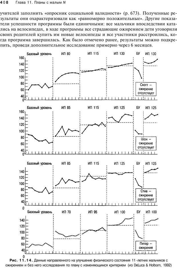 PDF. Исследование в психологии. Методы и планирование. Гудвин Д. Страница 407. Читать онлайн