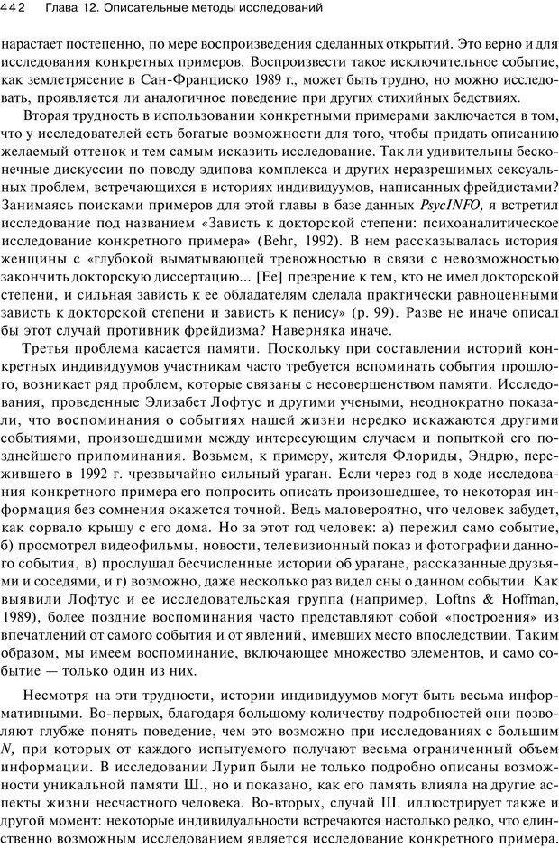 PDF. Исследование в психологии. Методы и планирование. Гудвин Д. Страница 441. Читать онлайн