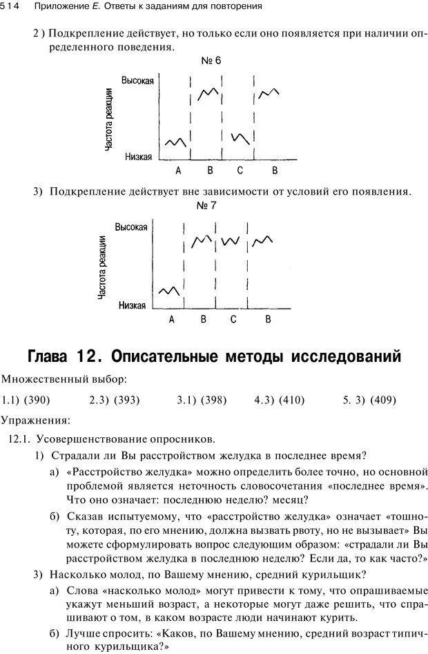 PDF. Исследование в психологии. Методы и планирование. Гудвин Д. Страница 513. Читать онлайн