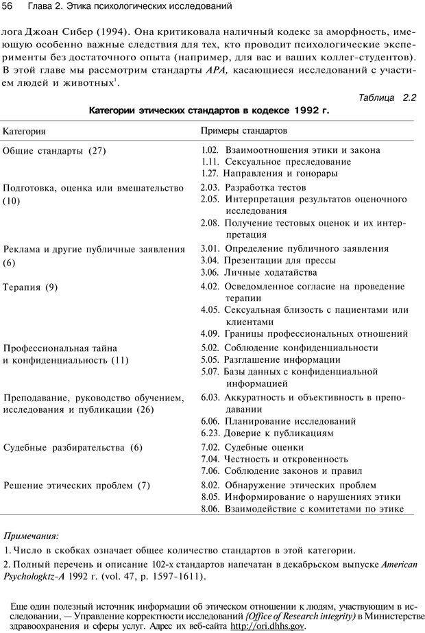 PDF. Исследование в психологии. Методы и планирование. Гудвин Д. Страница 55. Читать онлайн
