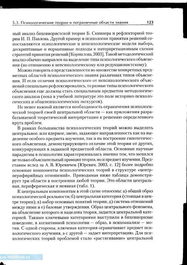 PDF. Методологические основы психологии. Корнилова Т. В. Страница 117. Читать онлайн