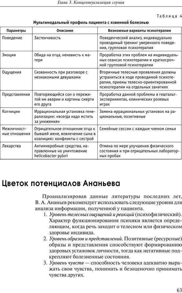 PDF. Практикум по психотерапии психосоматических расстройств. Кулаков С. А. Страница 60. Читать онлайн