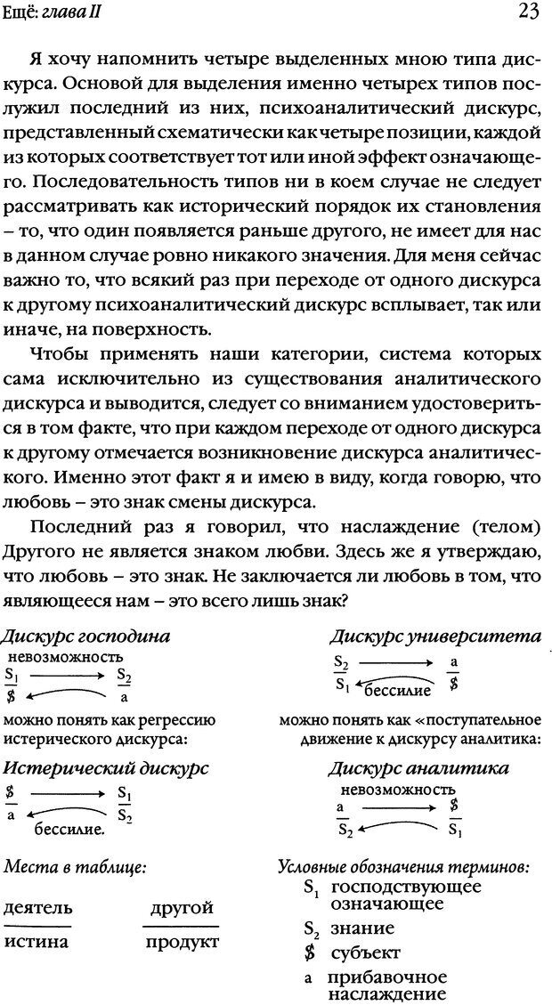 DJVU. Семинары. Книга 20. Ещё. Лакан Ж. Страница 21. Читать онлайн