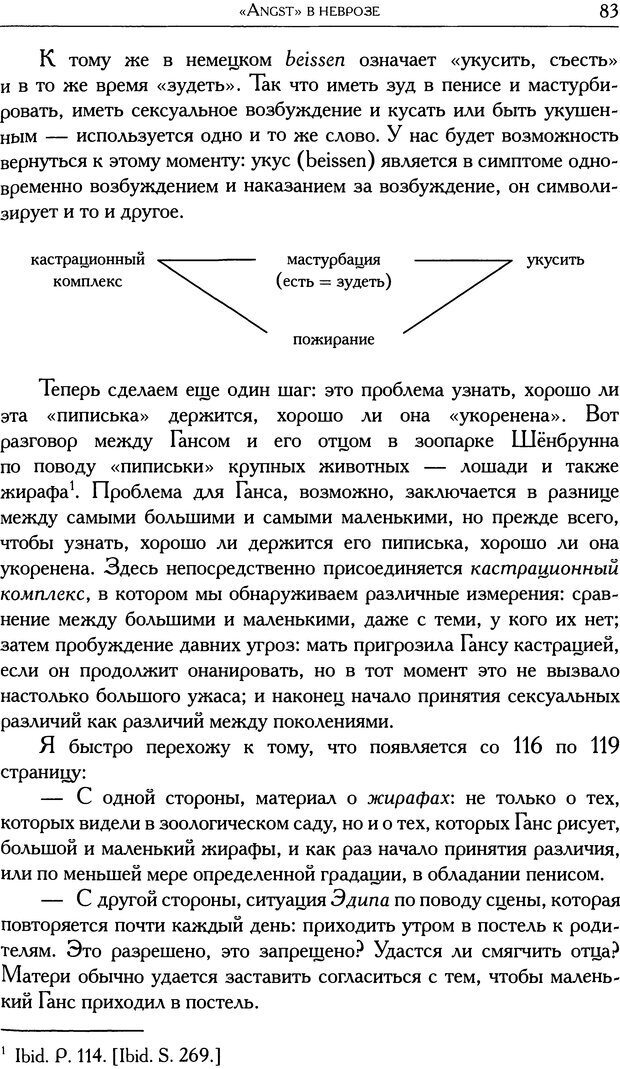 DJVU. Проблематики I. Страх. Лапланш Ж. Страница 95. Читать онлайн