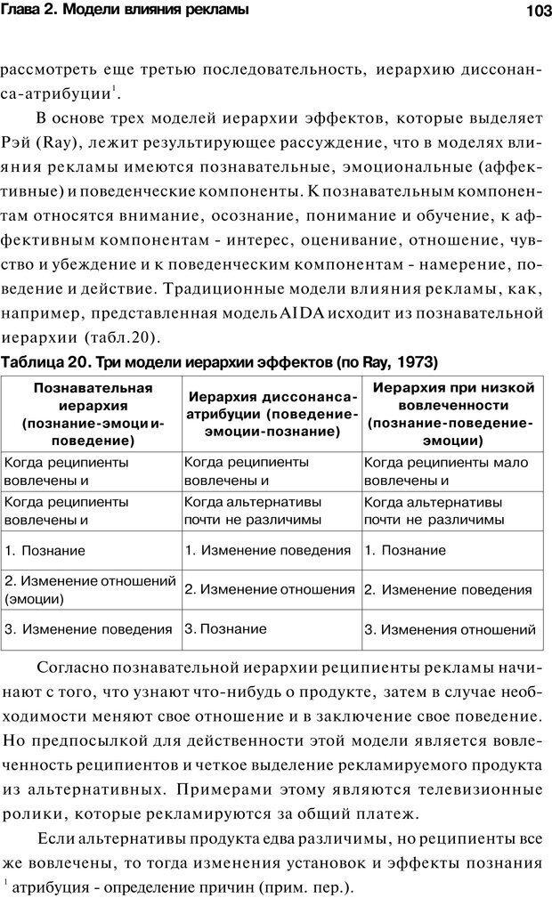 PDF. Психология маркетинга и рекламы. Мозер К. Страница 102. Читать онлайн