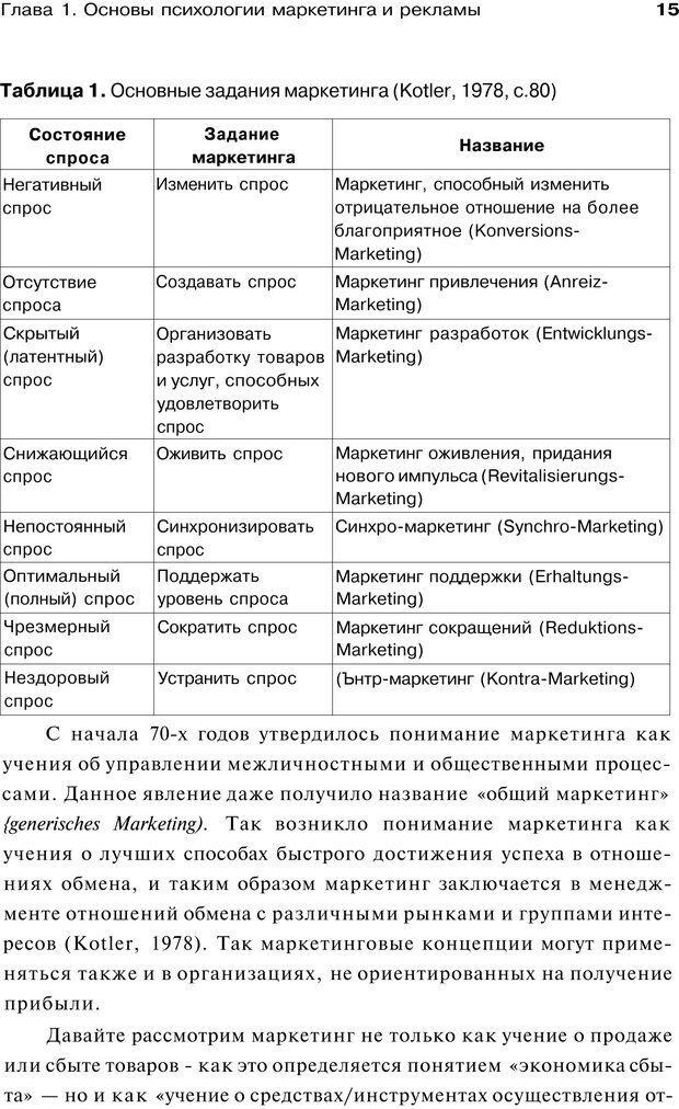 PDF. Психология маркетинга и рекламы. Мозер К. Страница 14. Читать онлайн