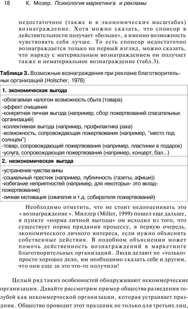 PDF. Психология маркетинга и рекламы. Мозер К. Страница 17. Читать онлайн