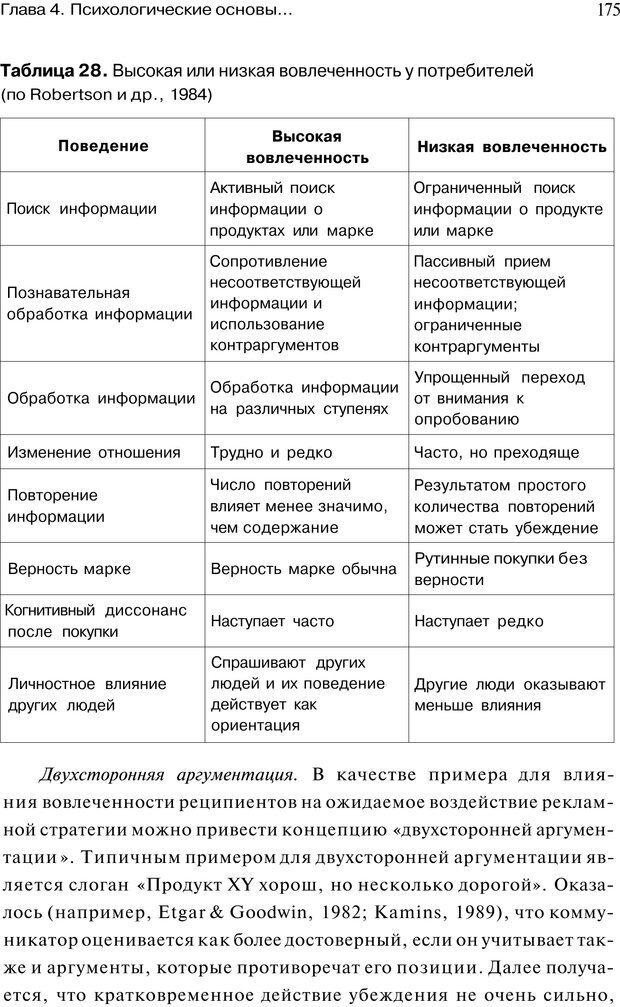 PDF. Психология маркетинга и рекламы. Мозер К. Страница 174. Читать онлайн