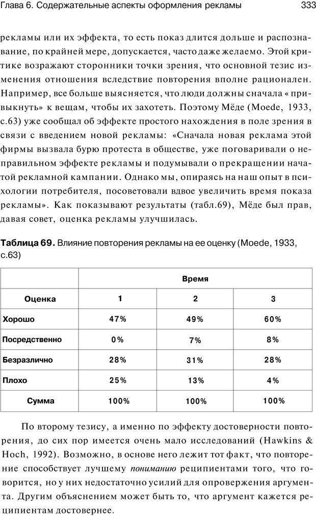 PDF. Психология маркетинга и рекламы. Мозер К. Страница 332. Читать онлайн