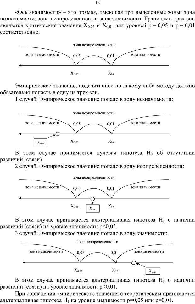 PDF. Математические основы психологии. Остапенко Р. И. Страница 12. Читать онлайн