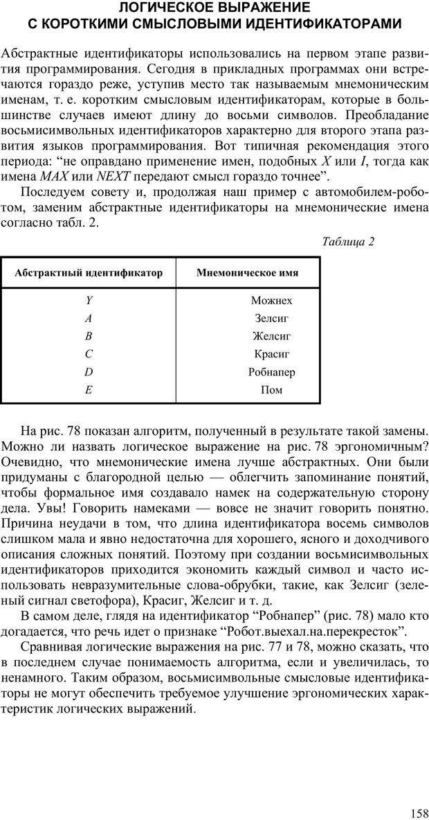 PDF. Как улучшить работу ума. Паронджанов В. Д. Страница 158. Читать онлайн